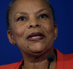 Christiane Taubira, French Justice Minister, Who Once Spoke Out About Ferguson, Resigns Amid Anti-Terrorism Controversy.