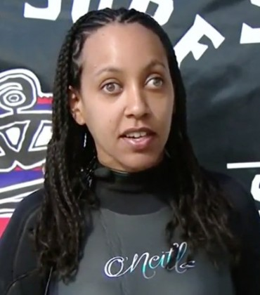 Deaf and Blind Disability Rights Attorney Haben Girma is Also an Avid Surfer.