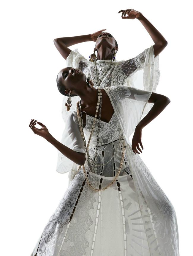 Mahany Pery Mariane Calazan Black Fashion Models