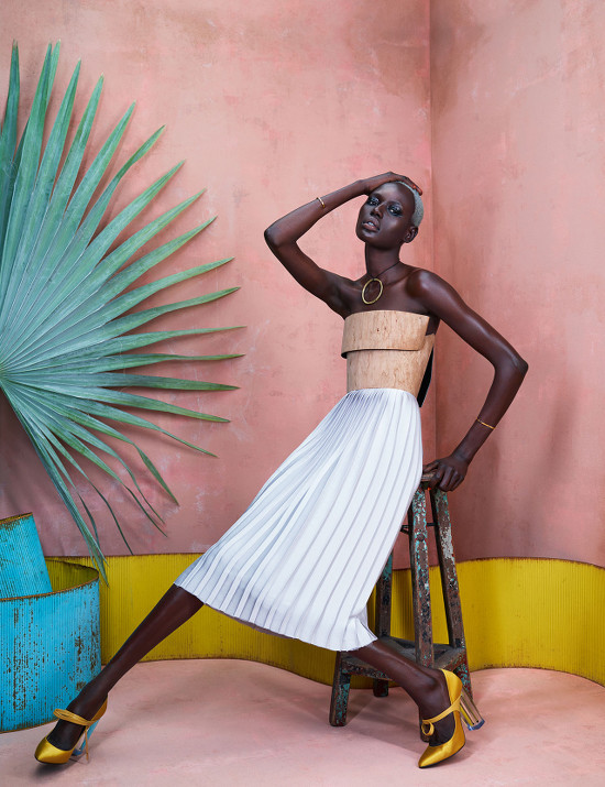 Ajak Deng, Maria Borges, African Fashion