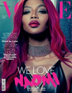 Editorials. Naomi Campbell. Vogue Portugal. February 2016.  Images by An Le.