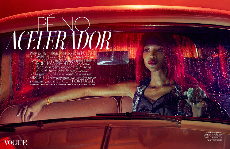 Naomi Campbell Vogue Portugal