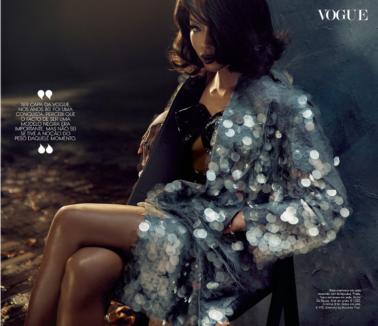 Naomi Campbell Vogue Portugal