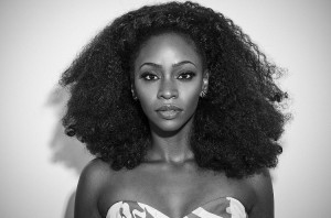 Teyonah Parris in Black and White.  For ISSUE.