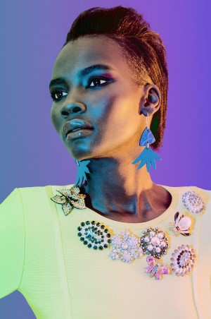 Editorials. Tricia Akello Goes 70's Glam. Images by II Retallack.