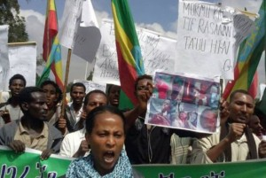 #OromoProtests. Ethiopian Activists Use Social Media To Speak Out Against Oppression.