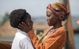First Look.  Lupita Nyong'o in 'The Queen of Katwe.'