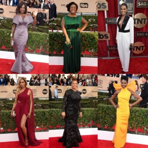SAG Awards Roundup.  The Big Wins and The Red Carpet.