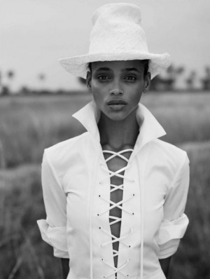 Editorials. Aya Jones. Vogue Spain March 2016. Images by Nico Bustos.