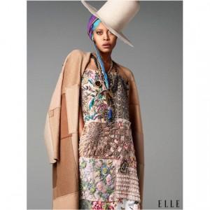Erykah Badu to Style Pyer Moss' F/W 2016 Fashion Show.