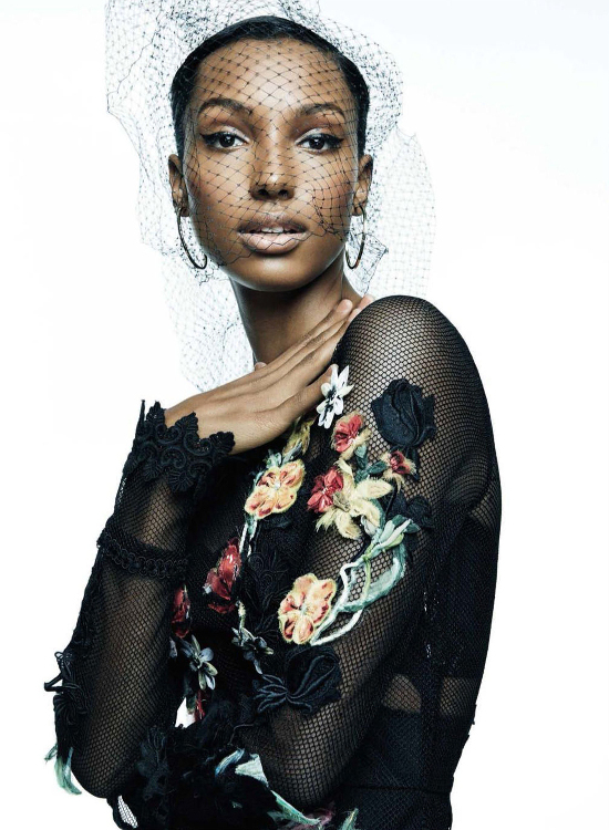 Black Fashion Models Vogue Spain