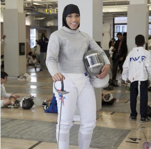 Ibtihaj Muhammad Will Be the First American Fencer To Compete In the Olympics While Wearing a Hijab.
