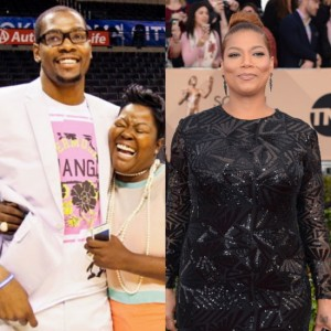 Queen Latifah To Produce TV Movie About Kevin Durant's Mother, Wanda Pratt.