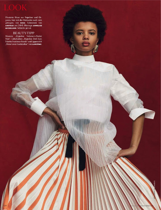 Poppy Okotcha Vogue Germany