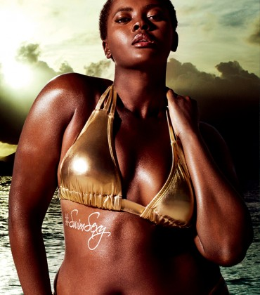 Snapshots. Philomena Kwao For Sports Illustrated and Swimsuits For All.