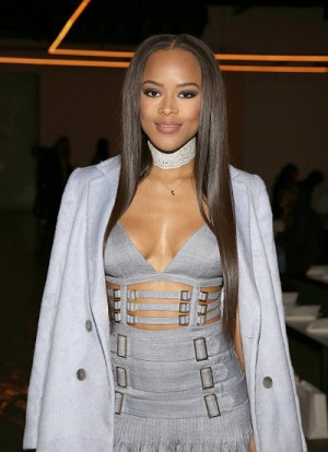 New York Fashion Week.  Serayah At Zimmermann FW16.