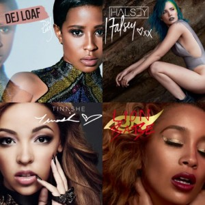 Dej Loaf, Halsey, Tinashe and LION BABE are the New Faces of Mac Cosmetics