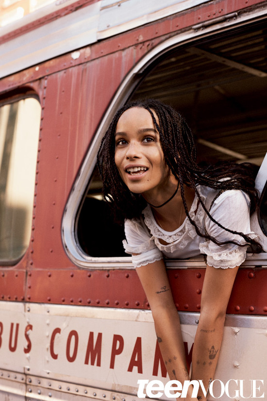 Zoe Kravitz Teen Vogue