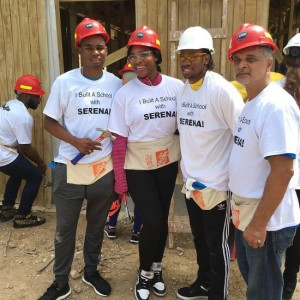 Serena Williams Builds School in Jamaica.