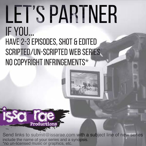 Issa Rae, Web Series, Black Filmmakers Contest