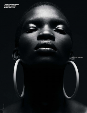 Beauty. Achok Majak.  French Revue de Modes.  Images by Thierry Le Goues.