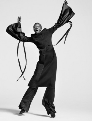Editorials.  Alek Wek.  Styleby March 2016.  Images by Andreas Öhlund and Maria Therese.