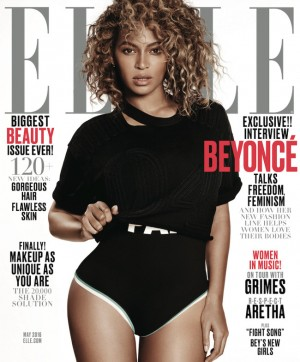 Beyoncé Covers ELLE US and ELLE UK.  Models Her New Fashion Line.
