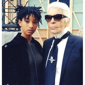 Willow Smith Named New Chanel Ambassadress.  Thanks the Brand for 'Expanding Perceptions of Beauty.'