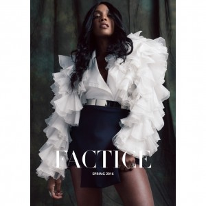 Images. Dawn Richard Covers Factice Magazine. Spring 2016.