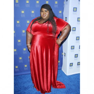 Gabourey Sidibe Wasn't Too Keen On Being Called 'Gabby.'  She's Also Waiting For that Beyoncé Album to Drop.  Just Like the Rest of Us.