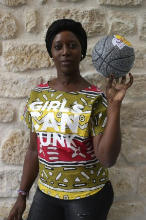 Shop This.  Lady Hoops Girls Can Dunk Senegalese Wax Tops.