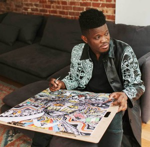 Nigerian Artist Visual Laolu Senbanjo Collaborates With Nike.