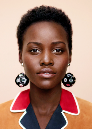 Editorials. Lupita Nyong'o.  InStyle April 2016.  Images by Thomas Whiteside.