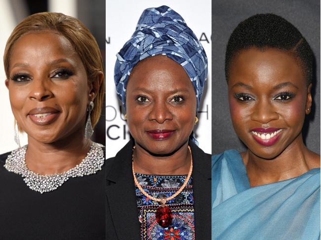 Mary J. Blige, Danai Gurira, Angelique Kidjo