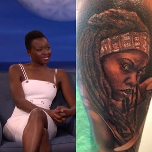 Michonne Tattoos Are Very Much a Thing.