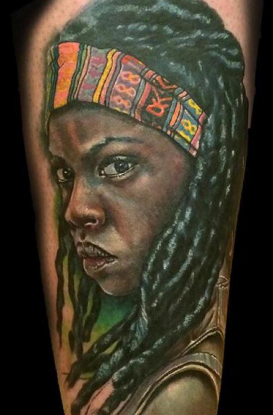 Michonne Tattoos
