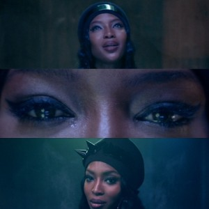 Naomi Campbell Stars The Music Video For ANOHNI's 'Drone Bomb Me.'
