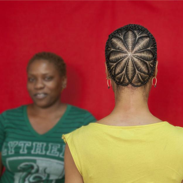 Sonya Clark Black Hair Art