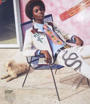 Editorials. Tami Williams. Elle France March 2016.  Images by David Bellemere.