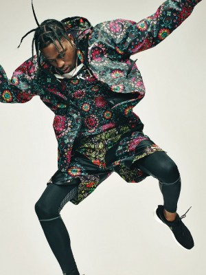 Joan Smalls, Travis Scott, and Fetty Wap Model Looks From NikeLab's New Designer Collaborations.