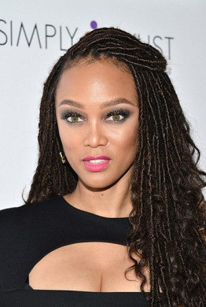 Tyra Banks Rocks Faux Locs. +DIY Tips.