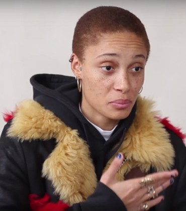 Watch This.  Model Adwoa Aboah Bares All.  Talks About Overcoming Depression and Addiction.  And Overcoming Self-Hate.