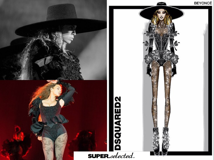 Fashion Beyonc 39 S 39 Formation 39 World Tour All The Looks