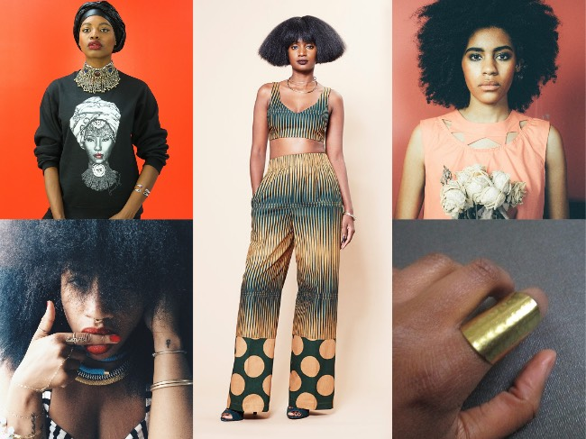 Black Designers SS16 Collage