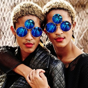 Coco and Breezy Are Providing Your Third Eye With UV Protection.
