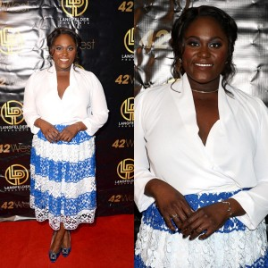 Steal Her Style. 'Orange Is The New Black' Star Danielle Brooks Wears ELOQUII, Manolo Blahnik, and More.