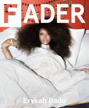 "Erykah Badu Covers The Fader. Talks ""Black on Black"" Crime."