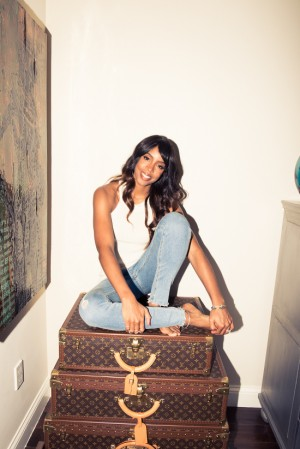 Kelly Rowland Shares Her Closet With The Coveteur.