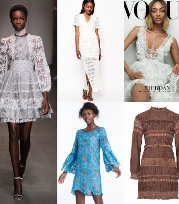 Shopping Post.  16 Lace Dresses To Wear in Spring and Summer.