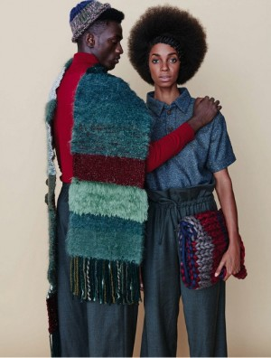 Editorials. Oluwatoyin Oyeneye and Monique Sterling. Elle South Africa April 2016.  Images by Ricardo Simal.
